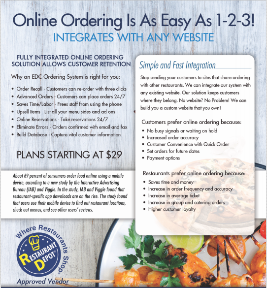 Online Ordering for your website