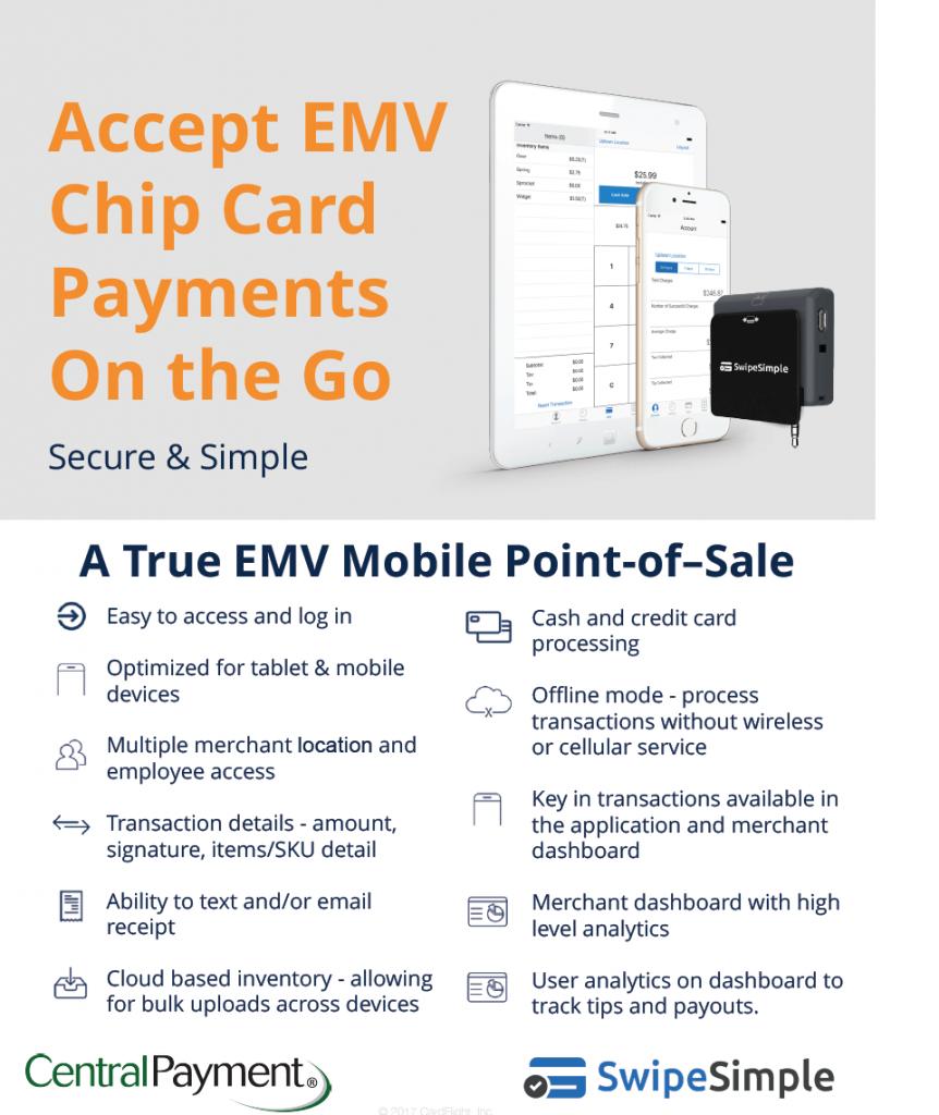 Web 2.0 Promotions EMV Swipe